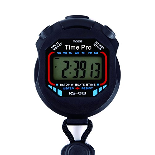 Water Resistant Stopwatches (ProCoach RS-013 Water Resistant Sports Stopwatch with Time and Alarm Function)