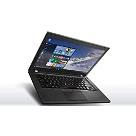 Lenovo Thinkpad T460 Touchscreen Ultrabook (14″ FHD Touch Display, Intel Core i7-6600U 2.6GHz, 8GB RAM, 256GB SSD, Webcam, Backlit Keyboard, Fingerprint Reader, Windows 10 Pro) (Renewed)