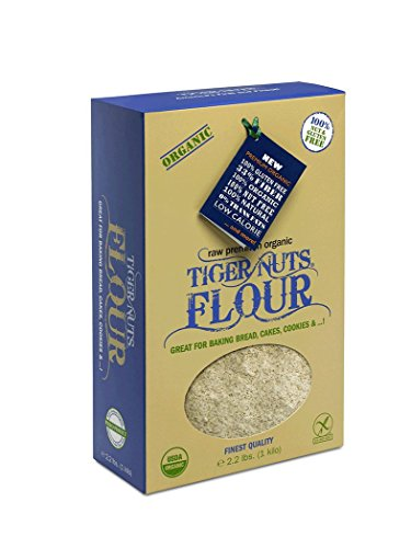 Price comparison product image TIGER NUTS FLOUR,  Gluten Free,  Organic,  Nut Free - Kilo (2.2 lbs)