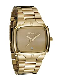 Gold/Gold Player Watch by Nixon