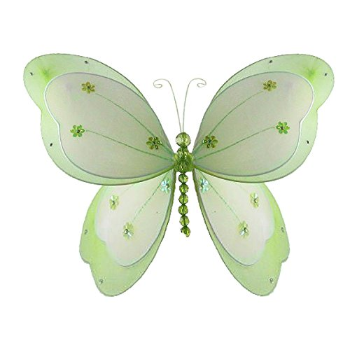 Butterfly Decoration 3D Hanging Mesh