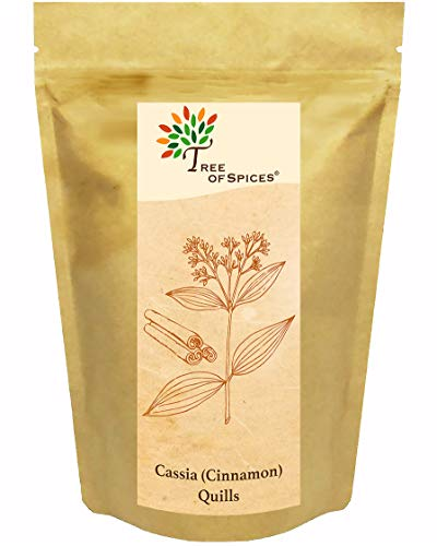 Tree of Spices - True Cinnamon Sticks / Cassia Quills Whole - 25g (0.88oz)