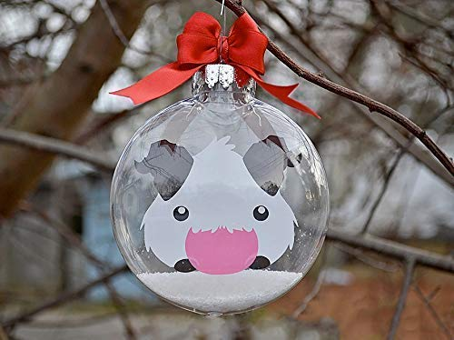 Image Unavailable - Amazon.com: League Of Legends Poro - Christmas Tree Ornament: Handmade