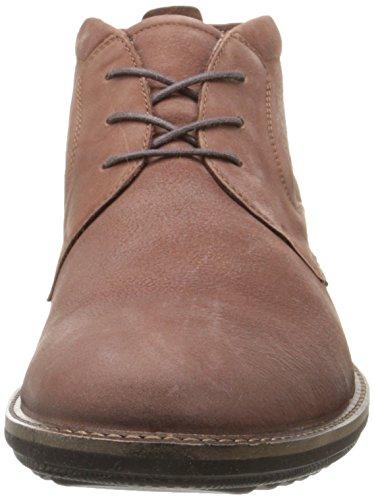 Ecco ECCO CONTOURED - zapatos con cordones de piel hombre Marrón (MINK2014)