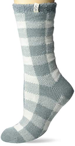 UGG womens Vanna Check Fleece Lined Sock