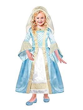 DISBACANAL Disfraz Medieval Tudor para niña - -, 3-5 años: Amazon ...