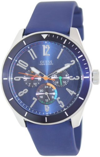 GUESS Men's Blue Multifunction Watch