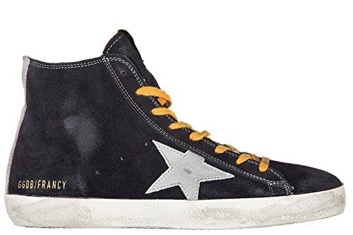 Golden Goose zapatos zapatillas de deporte largas hombres en piel nuevo francy b