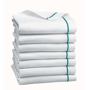 "MEDLINE 1 Dozen Herringbone Cotton Dish Towels 15""x26"" (Quantity 12) Satisfaction Guaranteed"