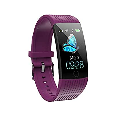 HOLACZES Colour Screen Fitness Tracker Activity Tracker IP68 Waterproof Pedometer Step Counter Wristband GPS Sport Watch for Women Men Kids Estimated Price £28.11 -
