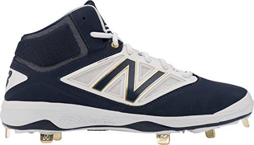 Ny Balans Mens M4040v3 Knap Baseball Skor Navy