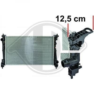 Diederichs DCM2006 Radiator, radiator: