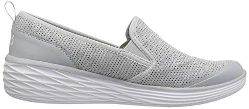 Ryka Damen Neve Fashion Sneaker Grau weiß