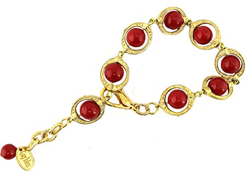 Swarovski Bordeaux Pearls Etruscan Style Matte Gold Cages Adjustable Gift Boxed USA Made Artist Gay Isber