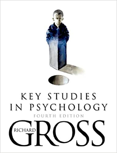 Key Studies in Psychology 4th Edition (Arnold Publication)