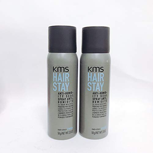 KMS CALIFORNIA HAIR STAY ANTI-HUMIDITY SEAL - Travel Size 2.0 OZ (2 Pack)