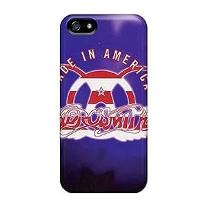 KennethKaczmarek Iphone 5/5s Bumper Hard Phone Cover Provide Private Custom Lifelike Aerosmith Band Image [VpF15661dKUH]