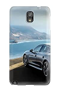 New Arrival Cover Case With Nice Design For Galaxy Note 3- Porsche Panamera Turbo Cars