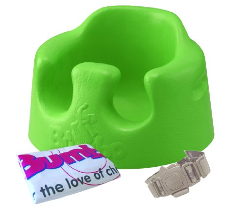 Bumbo Baby sofa dedicated waist belt bag containing green attached after [total import distributor; by Bumbo