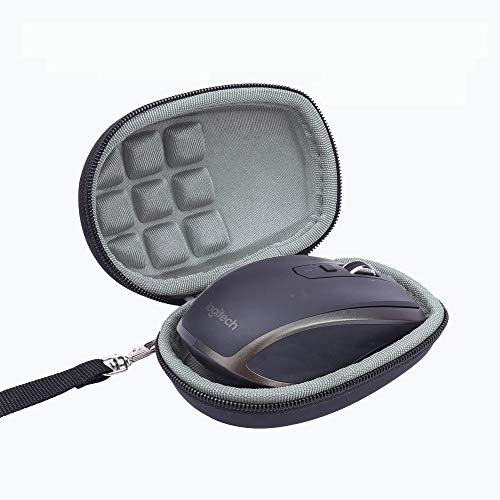 Travel Storage Carry Bag Hard Case for Logitech MX Anywhere 2S Wireless Mouse by YUMQUA