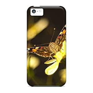 VIhhvKu1972PoPEG Jeffrehing Butterfly On Flower Wallpaper1 Feeling Iphone 5c On Your Style Birthday Gift Cover Case