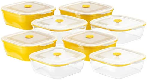 Collapse Silicone Storage Containers 8 piece