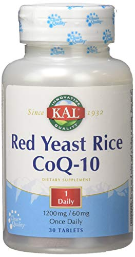 Kal Red Yeast Rice Coq10 Tablet, 30 Count