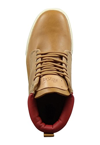 British Knights Wood - Zapatillas de estar por casa Hombre Cognac Red