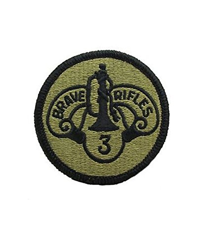 3rd Armored Cavalry Regiment - OCP Patch with Hook Fastener
