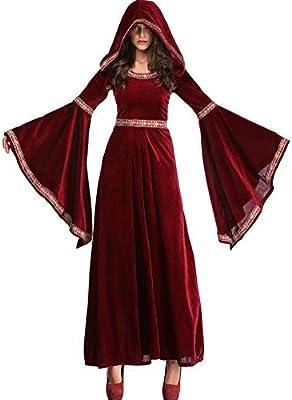 SHANGLY Halloween Bruja Vampiro Cosplay Disfraces Hechicera ...