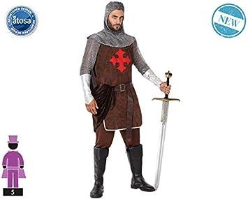 Atosa-61397 Atosa-61397-Disfraz Caballero Cruzadas-Adulto Hombre ...