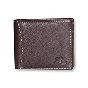 MEGATORO Brown Men's Leather Wallet