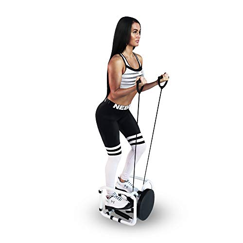 STK Mini Fitness Stepper with Resistance Bands and Twister Board – Compact Step Machine for Cardio Exercise, Core and Balance Training
