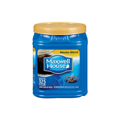 Maxwell House Ground Coffee, Master Blend (44.5 Oz.) - SCS