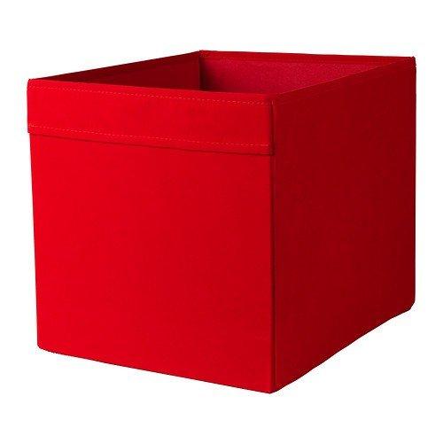 Ikea Inserto Dröna - Caja de almacenaje 33 x 38 x 33 cm (W x D x H) Color Rojo para Expedit, Besta y Otros: Amazon.es: Hogar