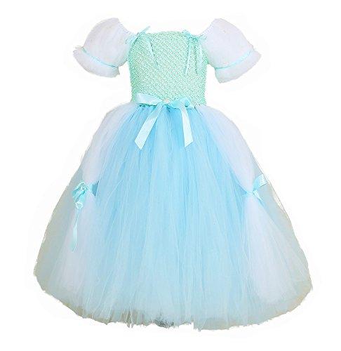 Tutu Dreams Cinderella Princess Costume for Teens Girls 12-14 Carnival Birthday Party (14, Cinderella)