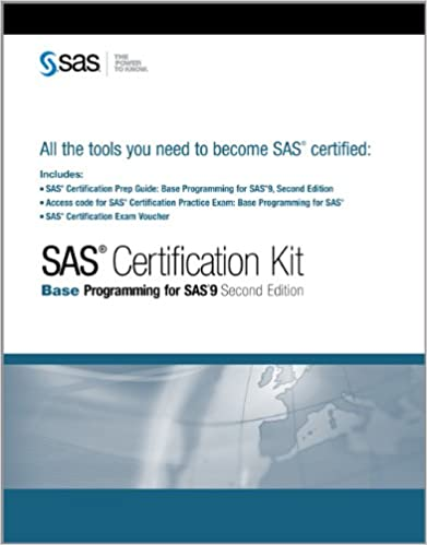 Fine sas certification exam illustration online birth certificate amazon sas certification kit base programming for sas 9 fandeluxe Image collections