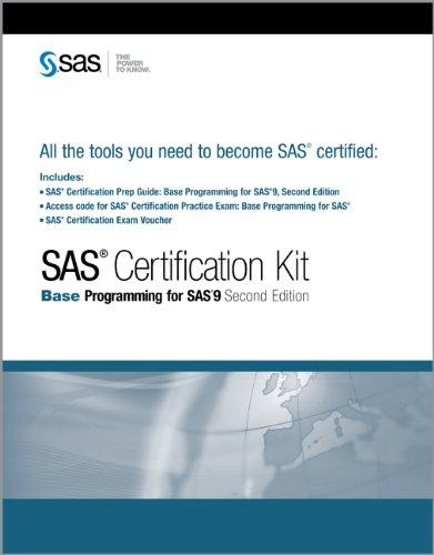 Buy SAS Certification Kit: Base Programming for Sas 9 Book Online at ...