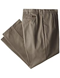 Lee mens big-tall Big-tall Stain Resistant Relaxed Fit Pleated Pant