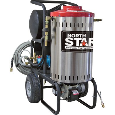 NorthStar Electric Wet Steam & Hot Water Pressure Washer - 2750 PSI, 2.5 GPM, 230 Volt