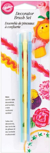 Wilton Decorator Brushes, 3-Pack