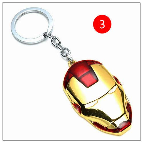 PAPEO Keychain 2-2.8 inch Hot Zinc Action Figure Small Figures Toys Mini Model Keyring Pendant Gifts Christmas Halloween Birthday Gift Movie Collectible for Kids -