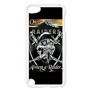 New Design Case for iPod touch5 w/ Oakland Raiders image at Hmh-xase (style 3)