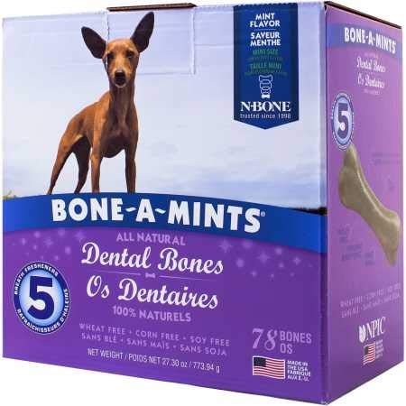 BoneAMints Dental Bones Mini 78 Pack