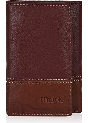 Slim Leather wallets for Men - Slim wallet trifold wallet RFID Leather wallet for men leather wallet mens slim wallet small (Wallet Mens Leather)
