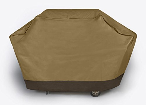 Dobar Heavy Duty Waterproof Vinyl Grill Cover - 59 Inch Medium