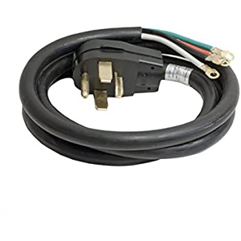 ALEKO WDC4W30A6 ETL 6\' Heavy Duty 4-Wire Dryer Cord, 30A - - Amazon.com
