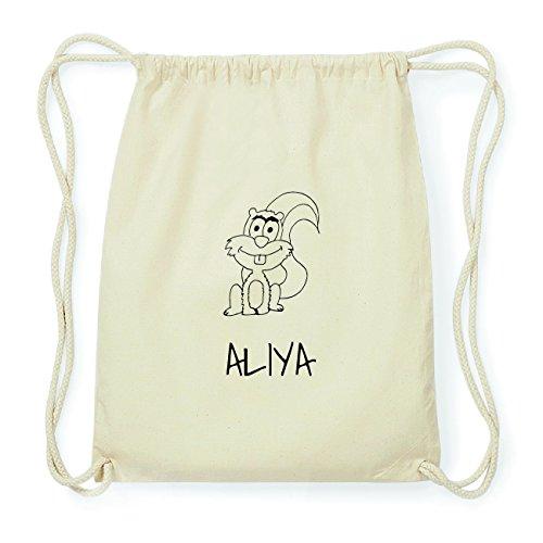 JOllipets ALIYA Hipster Turnbeutel Tasche Rucksack aus Baumwolle Design: Eichhörnchen 56J3Z6