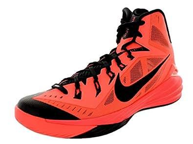 Nike Men's Hyperdunk 2014 Bright Mango/Black Basketball Shoe 7.5 Men US