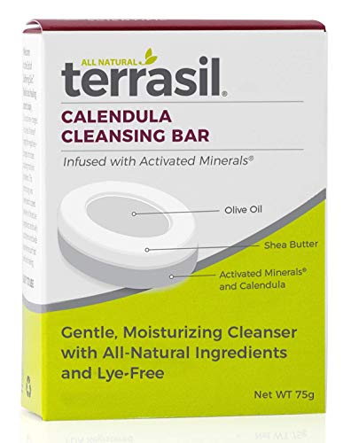 Calendula Soap- Use with Cream or Oil- Maximum Strength- Advanced Healing Anti Inflammatory for Itchy Dry Skin Burns Scrapes Fast Acting 100% Guaranteed by Terrasil